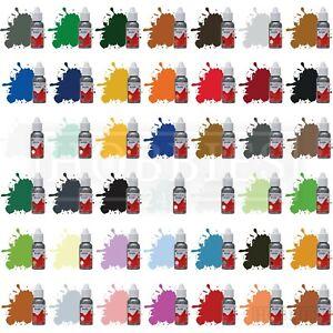 Humbrol Acrylic Model Paint 14ml Bottles Full Set Matt Gloss Metallic Colours