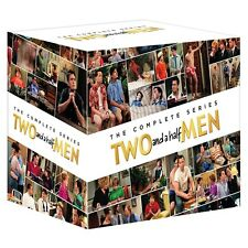 """TWO AND A HALF MEN COMPLETE SERIES 1-12 COLLECTION DVD BOX SET 39 DISCS R4 """"NEW"""""""