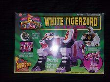 Power Rangers WHITE TIGERZORD Figure w/ White Power Ranger