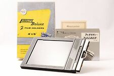 @ Shipped in 24 Hours! @ Fidelity Deluxe Cut Film Holder x1 4x5 Large Format