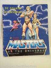 GD GOOD 1983 MOTU MASTERS OF THE UNIVERSE STICKER ALBUM BOOK COMPLETE PANINI