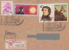 Poland postmark CHORZOW - philatelic exhibition KOSCIUSZKO mill (segment)