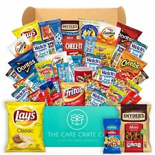The Care Crate Snack Box Care Package (40 piece Snack Pack) Chips Variety Pac...