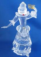 Columbine Set Masquerade by Swarovski Crystal Austria Figurine Stand and Plaque