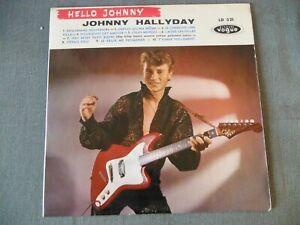 "LP 25cm original Disques Vogue LD 521 JOHNNY HALLYDAY "" Hello Johnny "" 1960"