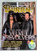 2007/05 BURRN! Japan Magazine VELVET REVOLVER/LORDI/MANOWAR/THE HOUNTED/WIG WAM