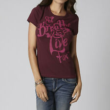 Fox Racing Fox Girl Show Off Crew Tee Bordeaux