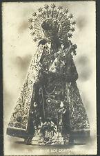 Postal antigua Virgen de los Desamparados andachtsbild santino holy card santini