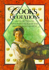 Cooks Quotations (Quotation Book),  , Good, FAST Delivery