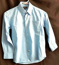 Boys Button-down  Long-Sleeved shirt in Blue  Size 8