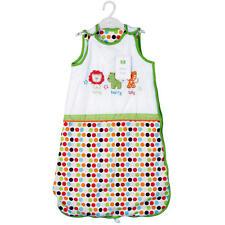 Safari Friends Baby Bedding Sleep Bag Comfort 6 - 12 Months Bright Zip up