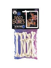 Caveman Cavewoman Fancy Dress Plastic Voodoo Bones Pack of 10 Pirate Accessory
