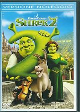 SHREK 2 - DVD (USATO EX RENTAL)