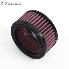 Motorcycle Cotton Gauze Round 0.2 oz (6 ml) Air Filters E-3120 Red Universal
