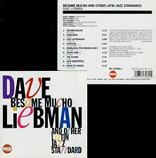 DAVE LIEBMAN  besame mucho & other latin jazz standards