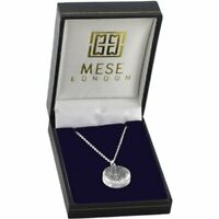 Tree Of Life Necklace 925 Sterling Silver Pendant - Elegant Gift Box