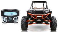 Hifonics TPS-MR1 Gauge Mount Bluetooth Receiver Radio 4 Polaris RZR/ATV/UTV/Cart
