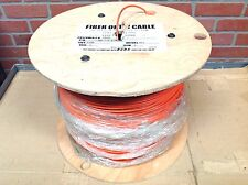 DUPLEX FIBER OPTIC CABLE - 1350 foot roll
