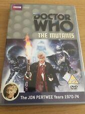 Doctor Who The Mutants DVD Jon Pertwee