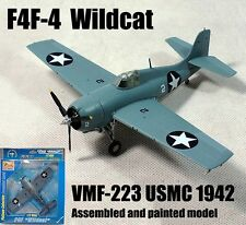 US Grumman F4F Wildcat aircraft fighter VMF-223 1/72 diecast plane Easy model