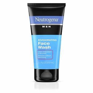 Neutrogena Men Invigorating Face Wash, 5.1 Oz (150 ml) fs