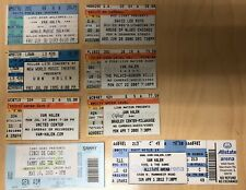 8 Van Halen & Family Used Concert Ticket Stubs See Description