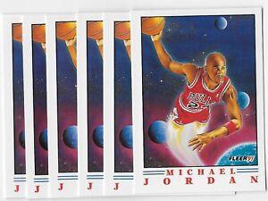 1991 Fleer Provision Michael Jordan card # 2 of 6** PSA Candidate***