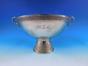 Japanese by Gorham Sterling Silver Centerpiece Bowl Pedestal with Birds (#0444)