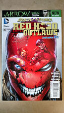 RED HOOD AND THE OUTLAWS #16 1ST PRINT DC (2013) BATMAN DEATH 0/T FAMILY JOKER
