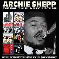 Archie Shepp : The Early Albums Collection CD Box Set 4 discs (2019) ***NEW***