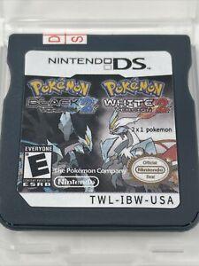 Pokemon Game Card Black 2 White 2 Ds 2-1