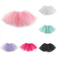Ballet Princess Dress Up Dance Wear Costume Party Girls Toddler Kids Skirt New