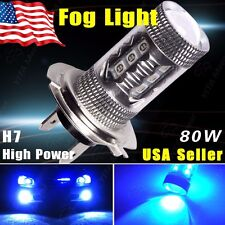 1920LM Ultra Blue H7 High Power 80W Super Bright Projector LED Fog Driving Light