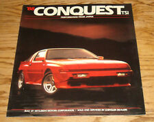 Original 1988 Chrysler Conquest TSi Deluxe Sales Brochure 88