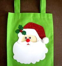 HAND CRAFTED CHRISTMAS SANTA GIFT BAG