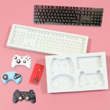Silicone Game Controller Keyboard Fondant Cake Craft Mould Chocolate Baking Mold
