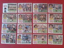 16 CROMOS EDICIONES ESTE 1982 1983 82 83 ATHLETIC CLUB BILBAO PERFECTO ESTADO...