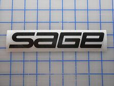 "Sage Decal Sticker 5.5"" 7.5"" 11"" Fly Fishing Rods Reels Line Tippet Tying Case"