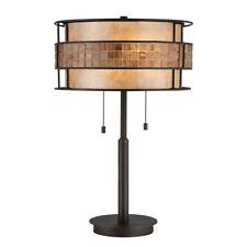 Quoizel Laguna Table Lamp 2 x 60W E27 220-240v 50hz Class I