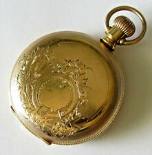 7 jewels Gold filled case Runs New listing