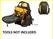 STANLEY FATMAX BACKPACK TOOL BAG (TOOLS NOT INCLUDED)