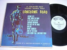 Earl Cupit and Bobby Bond Down that Lonesome Road 1967 Stereo LP VG++