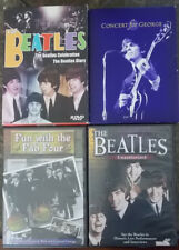 4 pc lot of Beatles - Fab Four - Music DVD's 2002-2004