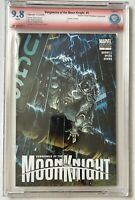 VENGEANCE of the MOON KNIGHT #1 CBCS 9.8 FINCH VARIANT Signed By David Finch