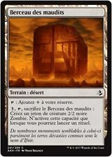 MTG Magic AKH FOIL - Cradle of the Accursed/Berceau des maudits, French/VF