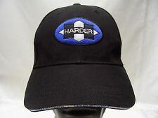 HARDER - 75TH ANNIVERSARY - ADJUSTABLE STRAPBACK BALL CAP HAT!