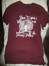 DON'T TELL ME WHAT TO DO HARRY POTTER T-SHIRT JUNIOR SIZE SMALL