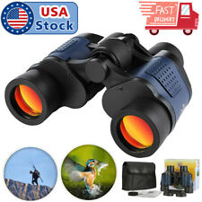 Usa 60X60 Zoom Binoculars Day/Night Vision Travel Outdoor Hd Hunting Telescope