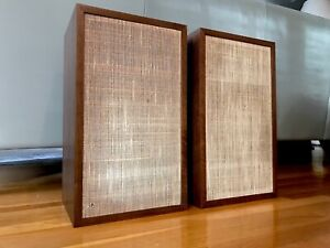 Legendary Dynaco A25 Speakers (Pair) VGC+  Take a look/No Reserve Cons Serial #s