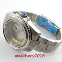 43mm Sapphire Glass Watch Case fit ETA 2824 2836 Movement free shipping